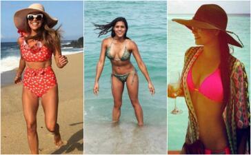 ¿Bikini o traje de baño? Inspírate en looks de nuestras conductoras e imita su estilo en la playa