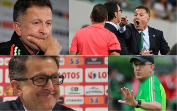¿Cuál es tu modo Juan Carlos Osorio de hoy? Las caras del DT del 'Tri' durante 2017