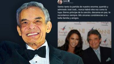 Hispanos en Nueva York lamentan la muerte de José José y le rinden homenaje