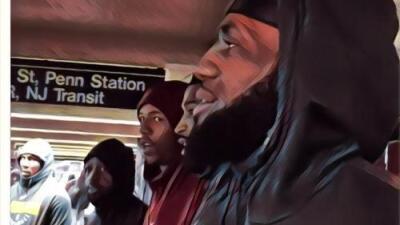¿Mucho tráfico en New York? Eso no es problema para LeBron y sus Cavaliers