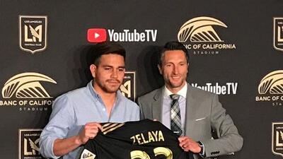 El LAFC de Carlos Vela se anota un punto con la afición salvadoreña con la llegada de 'Fito' Zelaya