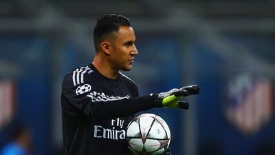 Keylor Navas, el único derrotado en la calificación del Real Madrid