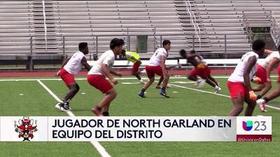Jugador de Garland es elegido para equipo del distrito