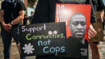 De forma pacífica, activistas se manifiestan en Chicago tras conocer veredicto en el juicio de Derek Chauvin