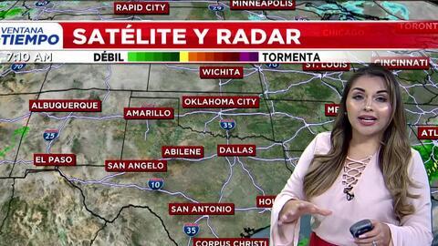 'Dallas en un Minuto': temperaturas otoñales, el pronóstico del tiempo para este jueves