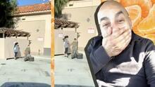 En spring break Lupillo Rivera pone a trabajar a sus hijos vendiendo mandarinas