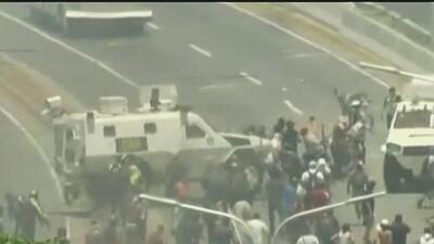"""Venezuela vive momentos de tensión con la """"Operación libertad"""""""