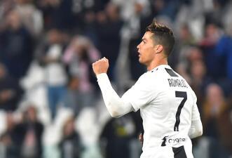 En fotos: Cristiano Ronaldo salva a la Juventus en el derbi de Turín