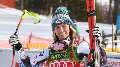 ¡Leyenda! La estadounidense Mikaela Shiffrin hace historia en esquí
