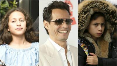 Los hijos pequeños del multiganador del Latin GRAMMY, Marc Anthony, son idénticos a él