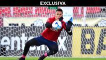 Raúl Gudiño quiere volver al Tri, pero acepa que debe mejorar