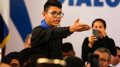 """Estudiantes aseguran que el gobierno de Nicaragua está """"destruido"""" y exigen la renuncia del presidente"""