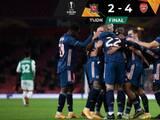 Arsenal vence al Dundalk y cierra con paso perfecto la fase de grupos