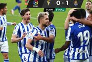 La Real Sociedad afianza el liderato y ya le duplica los puntos al Barcelona