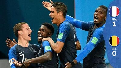 Con menos fútbol y más suerte, Francia eliminó a Bélgica y está en la final de Rusia 2018