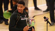Antetukounmpo hizo historia con su MVP en el NBA All-Star Game