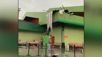 Las difíciles condiciones del tiempo generan caos y afectan las operaciones aéreas en Santa Clara, Cuba