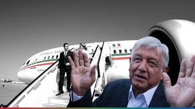 AMLO ya le está buscando comprador al avión presidencial