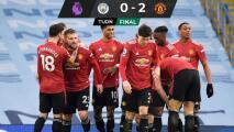 El United ganó y le acabó la racha ganadora al Manchester City