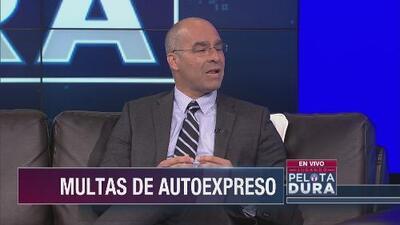 Gila responde a acusaciones en su contra por multas de AutoExpreso