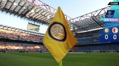 EN VIVO | Inter acecha y ya van dos de peligro en el arco de Slavia