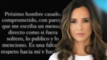 Ex de Nacho, Inger Devera explota contra los hombres infieles y está dispuesta a delatar a los que le escriben en redes