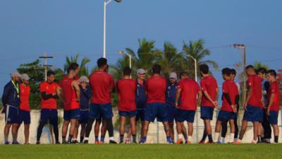 Con 12 jugadores: El Veracruz de 'Ojitos' Meza inicia pretemporada