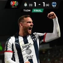 Rayados termina con el sueño de Santos y es semifinalista