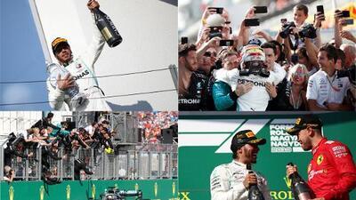 Lewis Hamilton le robó la victoria a Verstappen en Hungría