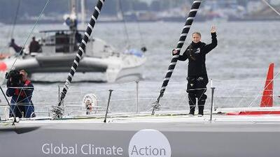 La odisea de la activista Greta Thunberg para cruzar el Atlántico en velero y evitar el avión
