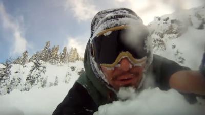 Denuncian a un esquiador que causó una avalancha