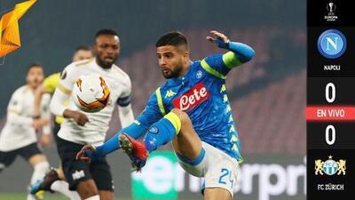 EXCLUSIVO DIGITAL | Napoli y Zurich empatan sin goles, negocio para los italianos
