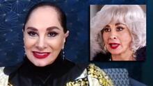 """""""Me encanta el pelo blanco"""": Susana Dosamantes habla de su personaje de """"abuela metiche"""" en Si Nos Dejan"""