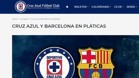Cruz Azul desmiente que Barcelona renovará su Camp Nou con cemento Cruz Azul