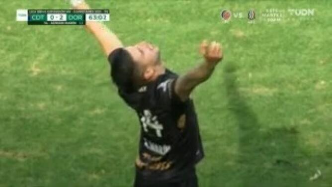 Adrián Marín consigue el 0-2 de Dorados con un golazo imperdible