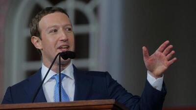 Mark Zuckerberg dice lo siento