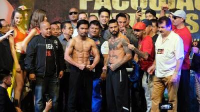 Manny Pacquiao vs. Lucas Matthysse: la leyenda de filipinas vuelve al ring