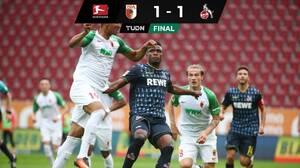 Ausgburg y Köln igualan en un final vibrante