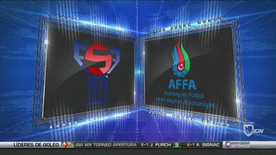 Islas Feroe 0-2 Azerbaiyán - GOLES Y RESUMEN – Grupo 4 UEFA Nations League
