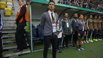 Diego Ramírez fue cesado como DT del Tri Sub-20