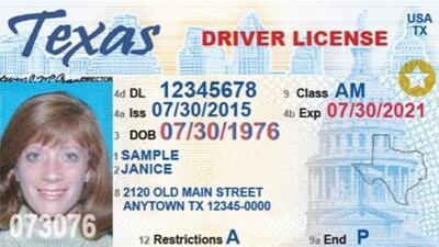 Si tu licencia de conducir no tiene una estrella, deberás renovarla porque no podrás usarla para viajar