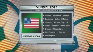 Éstas serán las sedes confirmadas de México para el Mundial del 2026