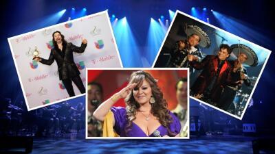 Juan Gabriel, Jenni Rivera y 'El Buki', tres grandes famosos que engalanaron Premios Lo Nuestro