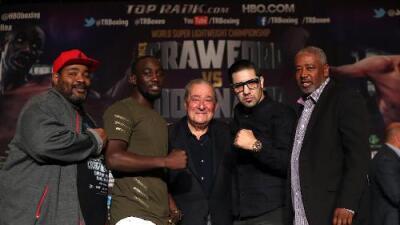 Terence Crawford defenderá título mundial contra John Molina