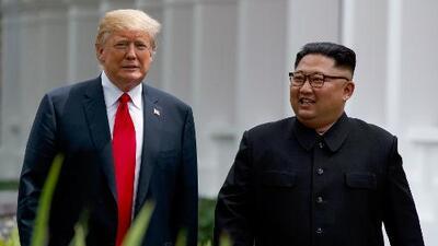 Estos son los cuatro puntos de la declaración firmada por Donald Trump y Kim Jong Un en Singapur