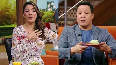 DAEnUnMinuto: Raúl decidió desayunar en vivo y Maity ya es de la realeza de Despierta América