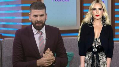 """Tania Ruiz aparece en unos premios y Jomari Goyso destroza su look al llamarlo """"vestido de quinceañera"""""""