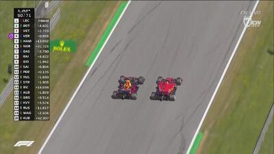 El aprendiz supera al maestro: gran rebase de Vertsappen sobre Vettel