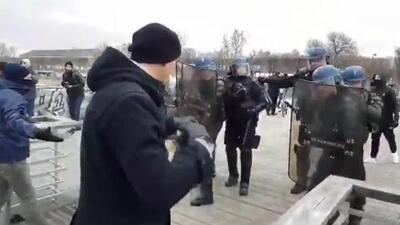Detenido exboxeador que golpeó a policías en protestas en París