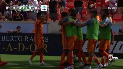 ¡GOOOL! Mauro Manotas anota para Houston Dynamo